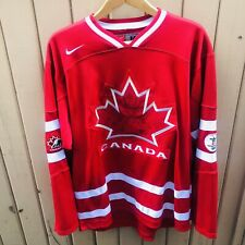 2010 Olympics Team Canada Nike Hockey Jersey Vancouver Red Size M