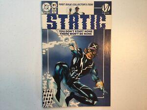 Static 1 Variant Milestone 1993 DC VF/FN FN+
