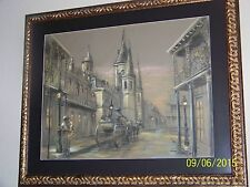 """NEW ORLEANS"" BY King Napoleon BORN 1940 PASSED 2005 FRENCH QUARTER ARTIST"