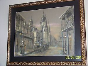 """""""NEW ORLEANS"""" BY King Napoleon LIVED 1940 - 2005 FRENCH QUARTER ARTIST"""