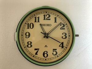 SEIKO VINTAGE QUARTZ MARINE NAUTICAL WALL CLOCK ORIGINAL SLAVE CLOCK