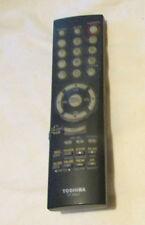 TOSHIBA CT-90037 TV VCR VIDEO COMBO GENUINE REMOTE CONTROL DISINFECTED