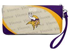 NFL Minnesota Vikings Synthetic Leather Graphic Logo Bi-fold Wallet