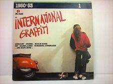 INTERNATIONAL GRAFFITI 1950-53 LP VINILE 33 GIRI - K-TEL N.1