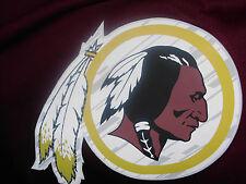 Men's New Medium NFL Washington Redskins Logo Print Fleece Hoodie