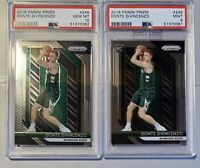 2018/19 Prizm Donte DiVincenzo Rc #246 PSA 10 PSA 9 Lot Bucks Invest