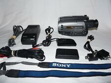 Sony Handycam CCD-TR96 8mm Video8 Camcorder VCR Player Camera Video Transfer