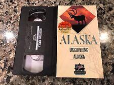 Alaska Discovering Alaska VHS! National Geographic. Native Americans. Train Ride