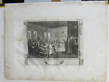 11/12 gr. 1795 W. HOGARTH by T. COOK INDUSTRY AND IDLENESS  THE TWO PRENTICES (2