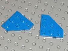 LEGO Blue Plates ref 2450 / Set 75042 8462 7161 1054 6886 6955 75002 6986 66456