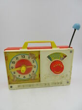 1971 Vintage Fisher Price #107 Wind Up Hickory Dickory Dock Clock
