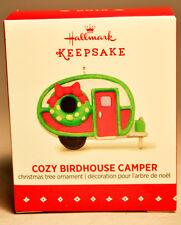 Hallmark: Cozy Birdhouse Camper - Miniature - 2015 Ornament