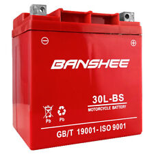 Banshee YTX30L-BS ATV Battery for POLARIS Sportsman, Military 700CC 02-'08