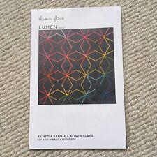 Alison Glass Lumen Quilt Pattern