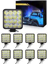 10X 48W WATT LED LUCE FARO 12V  LAMPADA DA LAVORO FARETTO AUTO BARCA CAMION M