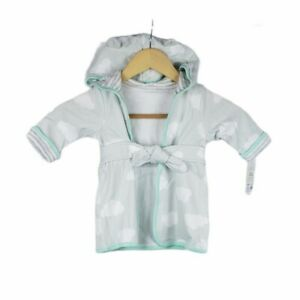 Cloud Island Mint Baby Bath Robe 6-9 Months