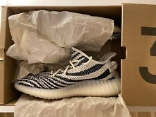 Adidas Yeezy Boost 350 v2 Zebra Sneakers Trainers Casual UK9 1/2 EUR 44 US 10