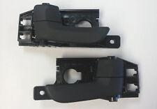 2005-2010 Kia Sportage Rear Inside Door Handle PAIR Black LH and RH