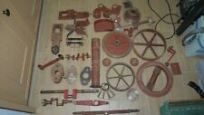 LIVE STEAM 4 INCH SCALE TRACTION ENGINE PARTS - TASKER, ETC