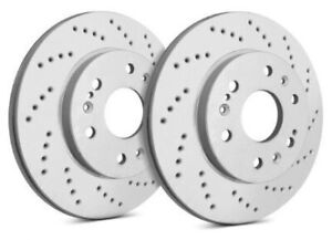SP Performance Rear Rotors for 2007 CX-9  | Drilled w/ ZRC C26-480