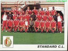 308 EQUIPE TEAM SQUADRA BELGIQUE  STANDARD LIEGE STICKER FOOTBALL 2001 PANINI