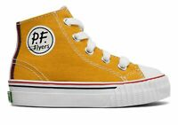 PF Flyers Infant Center Hi Shoes Yellow Size