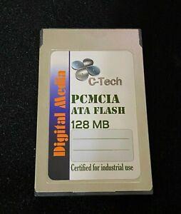 128MB Type 1 PCMCIA Industrial ATA Flash Card
