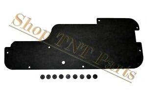 """1975-77 Pacer Hood Insulation Pad American Motors AMC 1"""" Profile w/ Clips"""