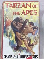 1934 23rd Edition TARZAN OF THE APES Hard Cover Novel Vintage Collectable Book