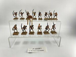 00061 Warhammer FB Rois des tombes  Archers squelette Plastique  skeleton archer