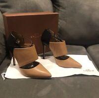 Coach Heart New Calf Heels 37.5 (US 7.5)