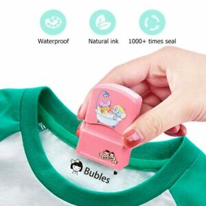 Name Stamp Customized Paints Personal Student Child Engraved Waterproof stamps