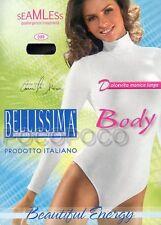 BODY DOLCEVITA DONNA MANICA LUNGA MICROFIBRA BELLISSIMA ART. 099