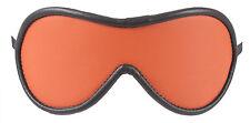 """Blindfold Shades of Orange Genuine Leather """"NEW"""""""