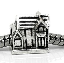 House New First Home Family Spacer Bead for Silver European Style Charm Bracelet