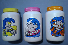 Arbys 1992 - Babar World Tour Summer Sippers - Complete Set of 3