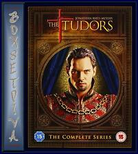 THE TUDORS - THE COMPLETE SERIES  1 2 3 & 4 *** BRAND NEW DVD BOXSET*****