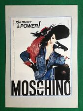 PX237 Pubblicità Advertising Werbung Clipping 27x20 cm - MOSCHINO JEANS