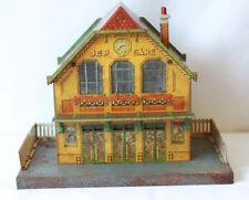 JEP grande gare en tôle lithographiée toy station
