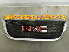 2004-2012 GMC ACADIA FRONT GRILLE WITH EMBLEM NEW GM # 22785560