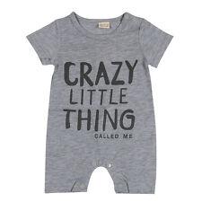 Fashion baby Romper unisex cotton Short sleeve newborn baby clothes 7-9 months