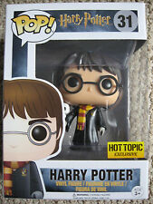 """HARRY POTTER with Hedwig #31 FUNKO POP (HOT TOPIC Exclusive!) """"VHTF"""" now!"""
