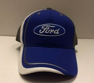 Ford Swirl Adjustable Hat from Checkered Flag Sports Free Ship