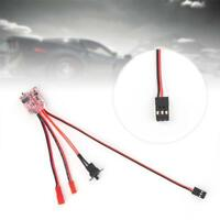 New Speed Controllers 10A Bustophedon ESC Brushed for RC Cars Boats accessory JG