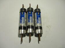 NEW LOT OF 3 LITTELFUSE FLSR-200-ID INDICATOR  CLASS RK5 600V DUAL ELEMENT FUSE