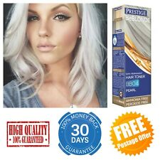 PRESTIGE Be Blonde PEARL Semi-Permanent HAIR TONER BB04 Ammonia Free 100ml