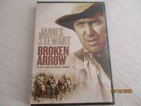 Broken Arrow, 1950 (2007). Classic Western. James Stewart (Tom Jeffords). NR