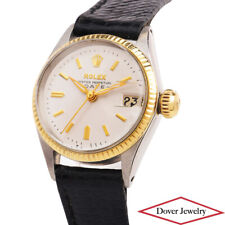 Rolex Vintage Oyster Stainless Steel Lady #6517 Automatic Watch 23.6 Gr NR
