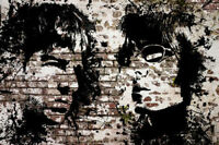 HUGE Oasis Noel Liam Gallagher Graffiti Poster