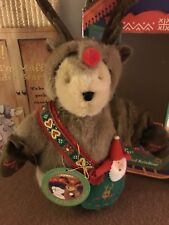 Muffy Vanderbear The Red-Nosed ReinBear 1996 In Orginal Box